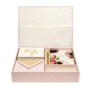 Kate Spade Keepsake Thank you Card Box NEW
